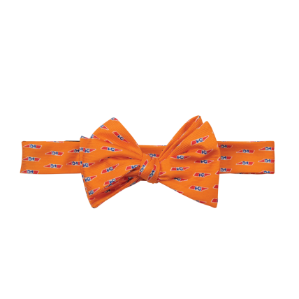TN Traditional Orange Bow